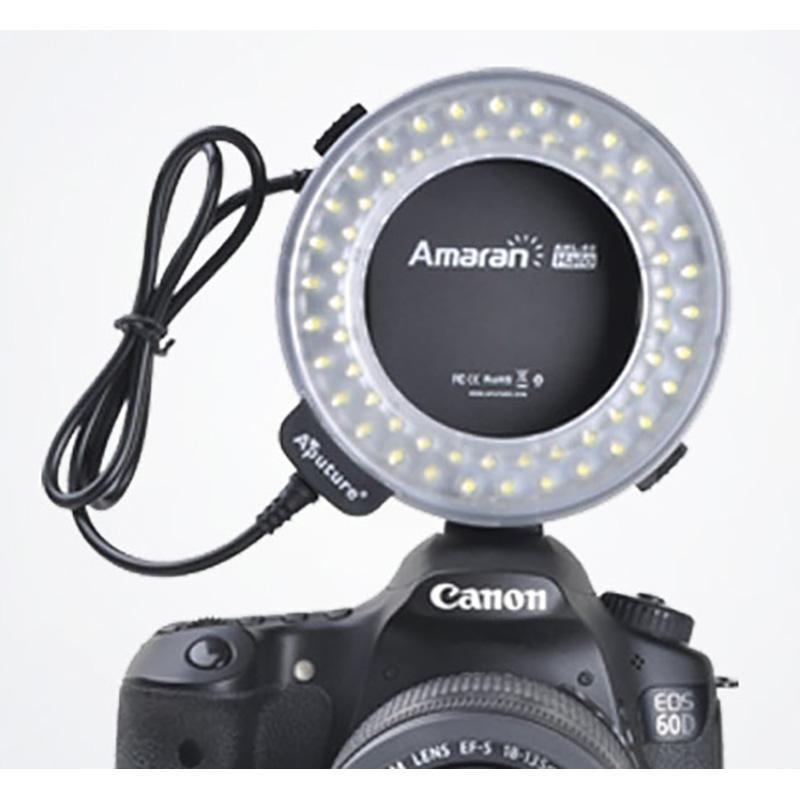 LED RING FLASH AHL-C60 CANON APUTURE art. 04145