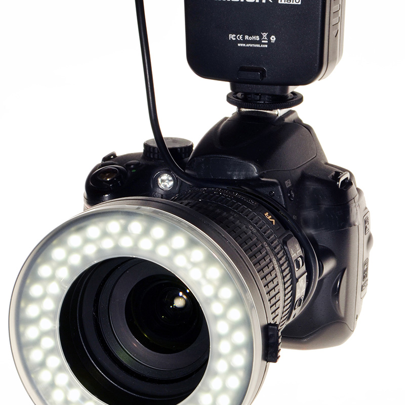 LED RING FLASH AHL-C60 CANON APUTURE art. 04145