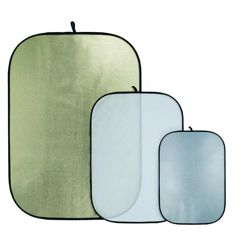 QUADRALITE SILVER/WHITE 70x100cm art. 01052