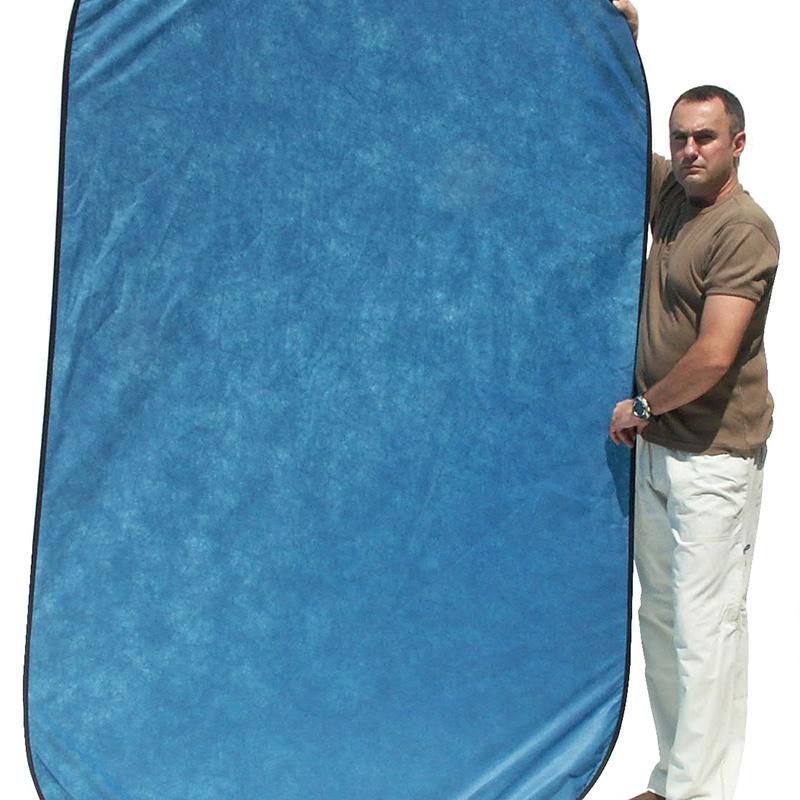 UNIFORM BACK BLUE mod.Flex 1,5x2,1m art. 08675