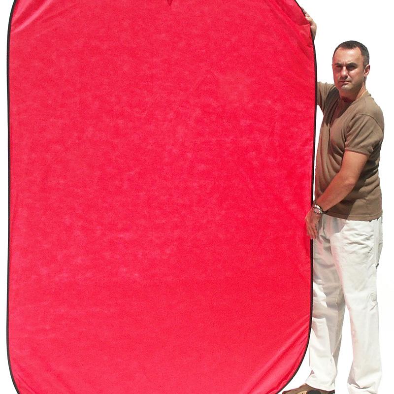 UNIFORM BACK RED mod.Flex 1,5x2,1m art. 08676