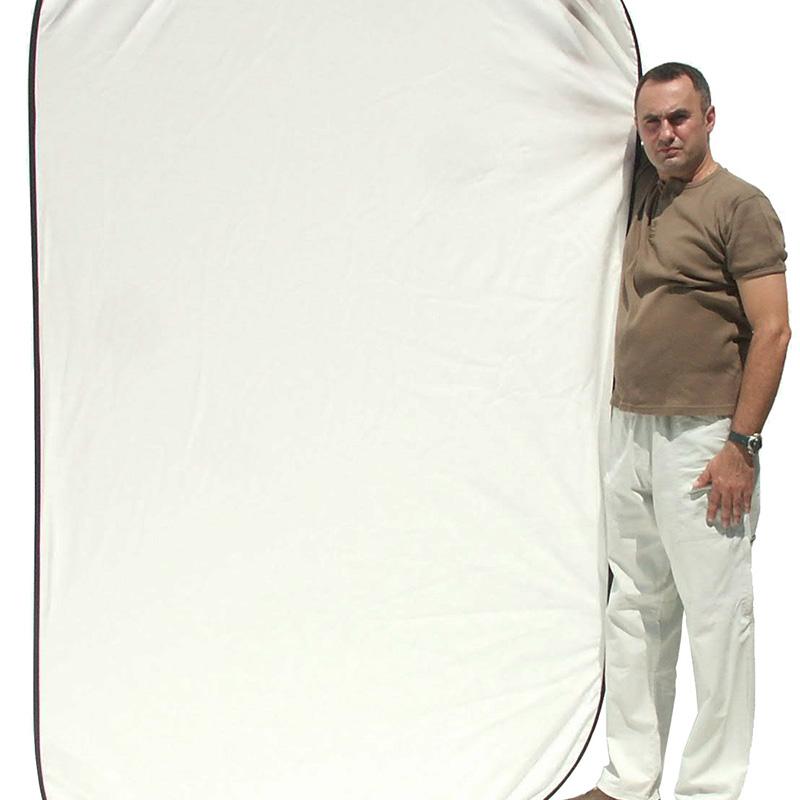 UNIFORM BACK WHITE mod.Flex 1,5x2,1m art. 08670