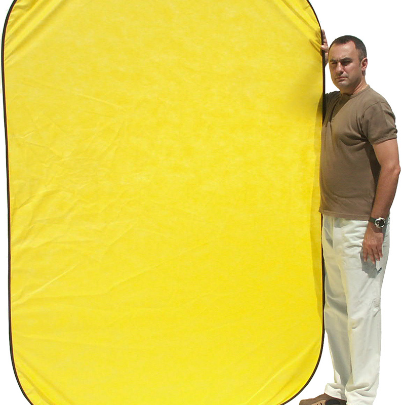 UNIFORM BACK YELLOW mod.Flex 1,5x2,1m art. 08679