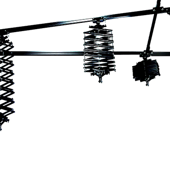 CEILING TRACKING SYSTEM 3x3m art. 04380